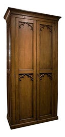 Image of Gothic Armoires Wardrobes and Linen Presses
