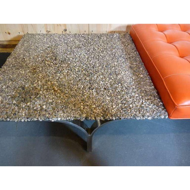 1960s Rare Bench by Erwin and Estelle Laverne For Sale - Image 5 of 9