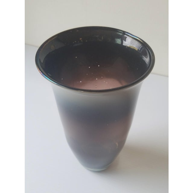 1981 Dante Marioni Glass Blown Vase for Traver Gallery For Sale - Image 13 of 13