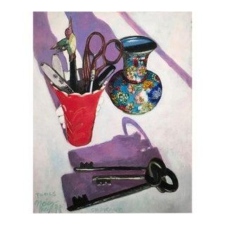 """""""Tools"""" Original Still Life Painting"""