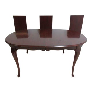Pennsylvania House Cherry Admiral Conference Table For Sale