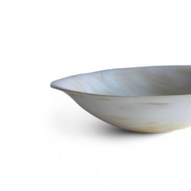 Rimmed Horn Bowl For Sale - Image 4 of 5