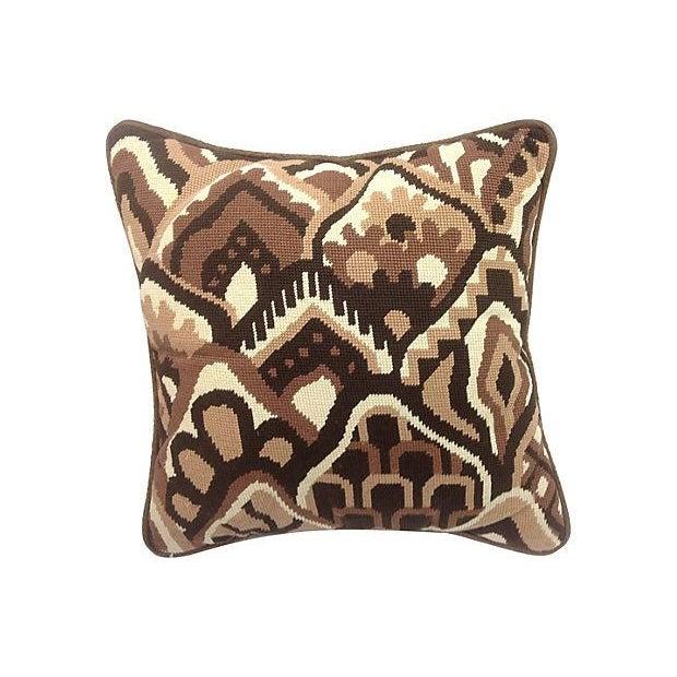 Mod Needlepoint Pillows - Set of 3 - Image 3 of 5