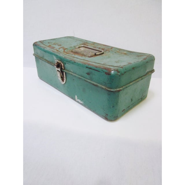 Green Liberty NY Metal Chest - Image 7 of 11