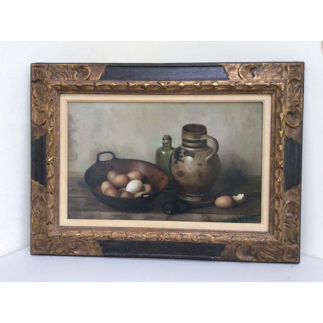 Henk Bos Original Still Life Oil Painting For Sale - Image 5 of 9