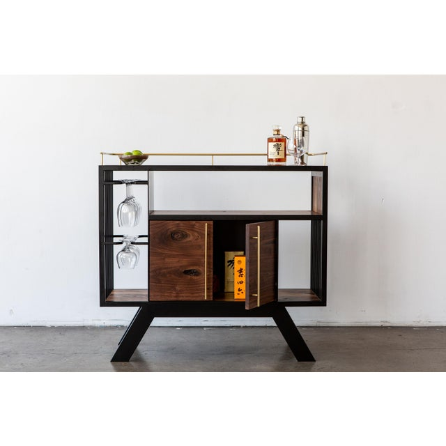This piece is our modern interpretation of a classic drinks cabinet. We've incorporated our signature Lloyd leg design and...