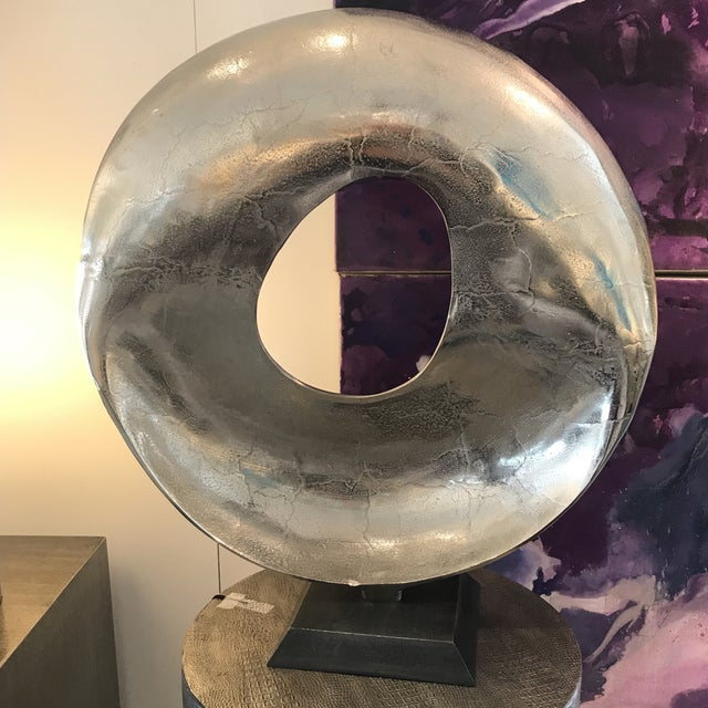 Modern Round Sculpture For Sale In Palm Springs - Image 6 of 9