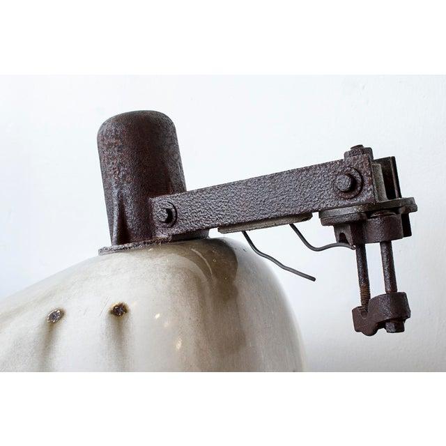 Metal Antique Industrial Street Light For Sale - Image 7 of 7
