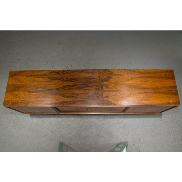 Rosewood Danish Modern Rosewood Sideboard For Sale - Image 7 of 10