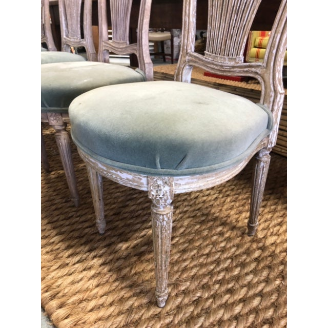Early 20th Century Antique French Maison Jensen Balloon Chairs- Set of 4 For Sale - Image 10 of 11