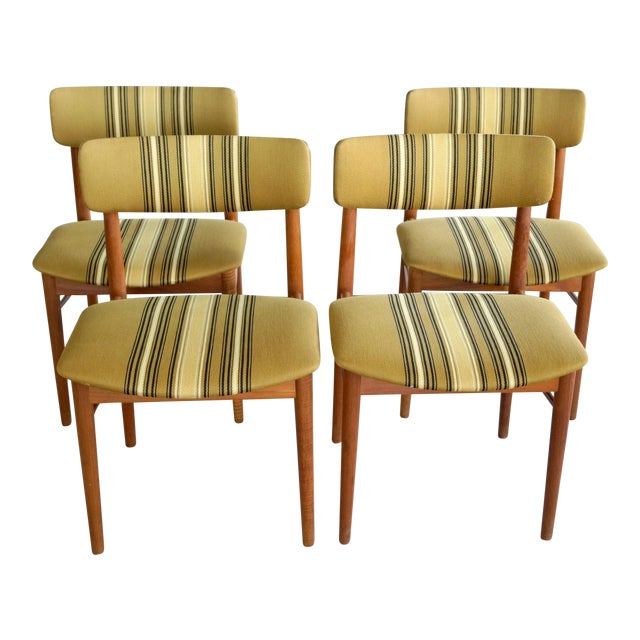 Soroe Style Danish Maple Dining Chairs - Set of 4 - Image 1 of 9