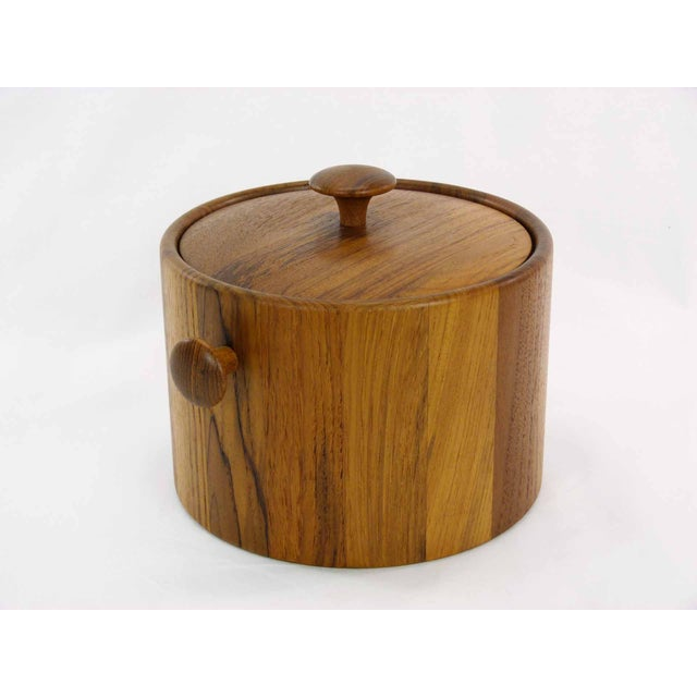 Danish Teak Ice Bucket - Image 3 of 5
