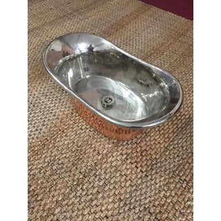 Modern English Copper and Polished Nickel Sink Preview
