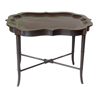 Maitland Smith Ltd. Leather Tray Coffee Table