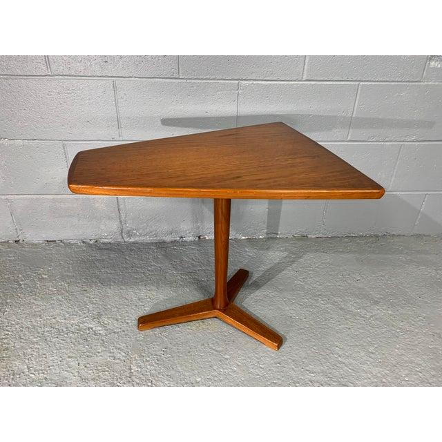 1960s Mid-Century Swedish Modern Dux Teak Side Table For Sale - Image 13 of 13