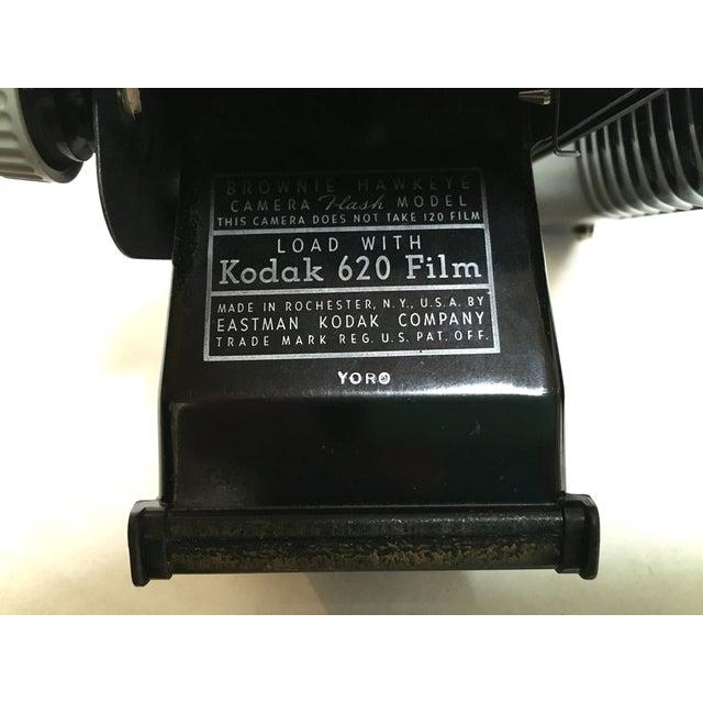 Kodak Hawkeye Brownie Camera With Flash For Sale - Image 10 of 10