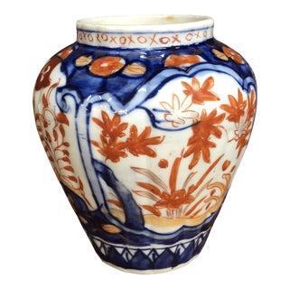 Late 19th Century Antique Imari Jar For Sale