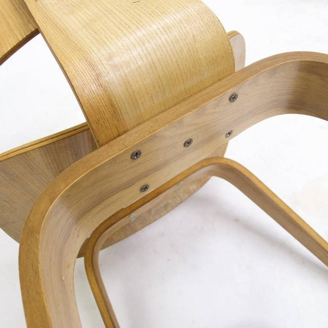 """Mid-Century Modern Charles and Ray Eames for Herman Miller Dcw """"Dining Chair Wood"""" in Oak For Sale - Image 3 of 10"""