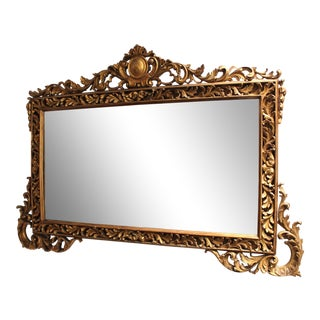 Early 20th Century French Gilt Mirror