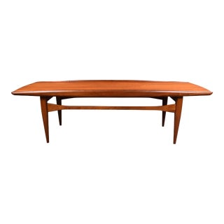 Vintage Mid Century Modern Surf Coffee Table