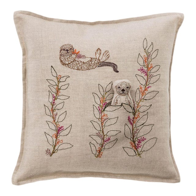 Sea Otter Pocket Pillow For Sale