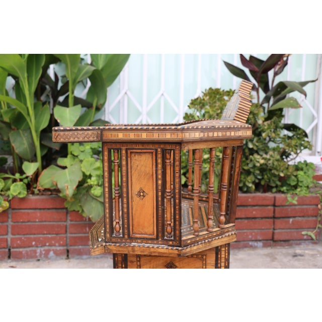 Moroccan 1920's Side Chair For Sale In Los Angeles - Image 6 of 9