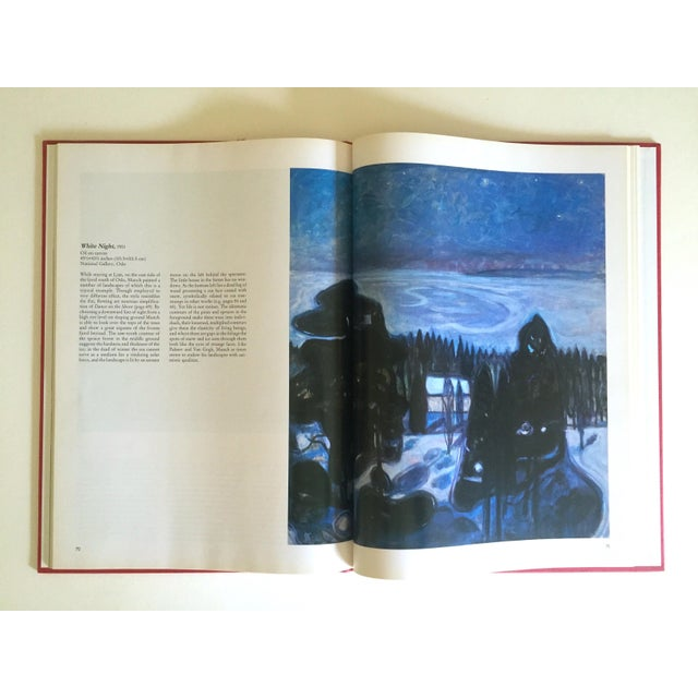 """"""" Munch """" First Edition Vintage 1990 Expressionist Hardcover Art Book For Sale In New York - Image 6 of 13"""