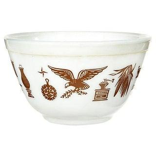 1960s Pyrex Glass Mixing Bowl
