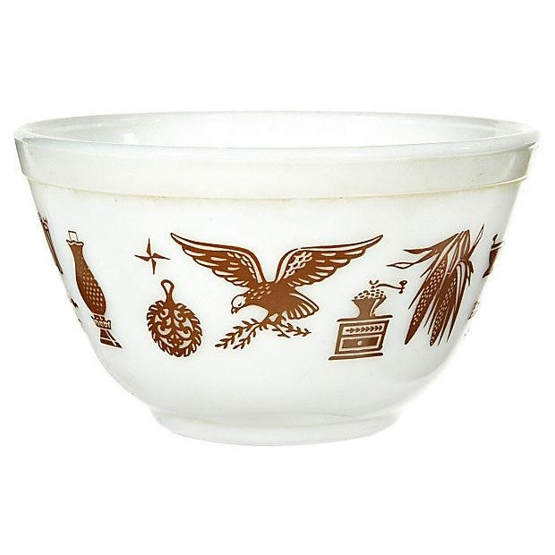 1960s Pyrex Glass Mixing Bowl For Sale