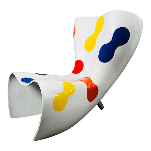Marc Newson Limited Edition Felt Chair For Sale
