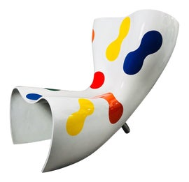 Image of Fiberglass Lounge Chairs