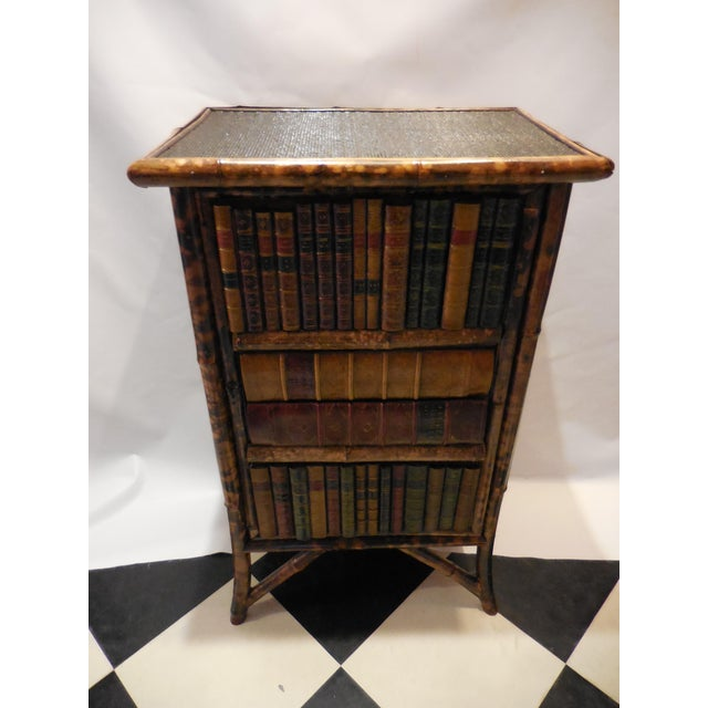 Bamboo Library Cabinet - Image 4 of 8