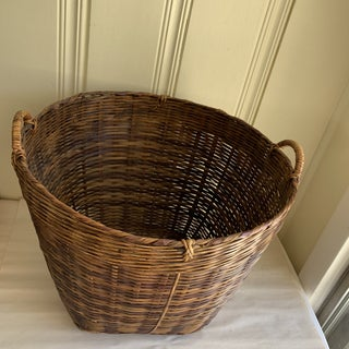 Earthy Wood Rustic Decor & Storage Basket Preview