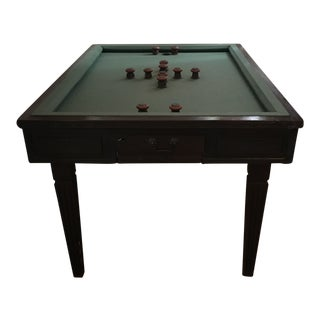 1970s Country Brunswick Town & Country Bumper Pool Table For Sale