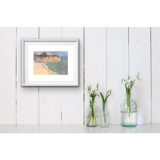 """This item is a print of my original painting """"the cove."""" The image is printed with archival inks on fine art paper that..."""