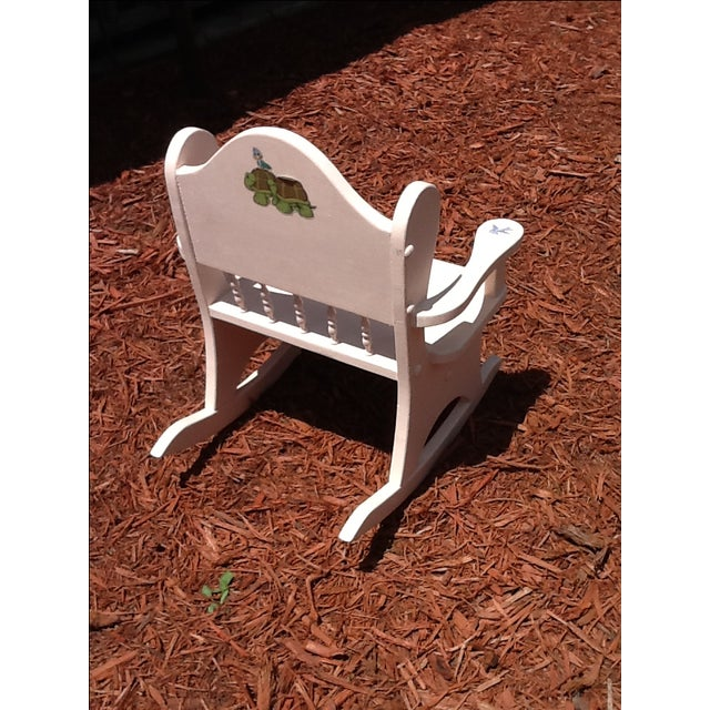 Vintage Child's Rocking Chair - Image 4 of 5