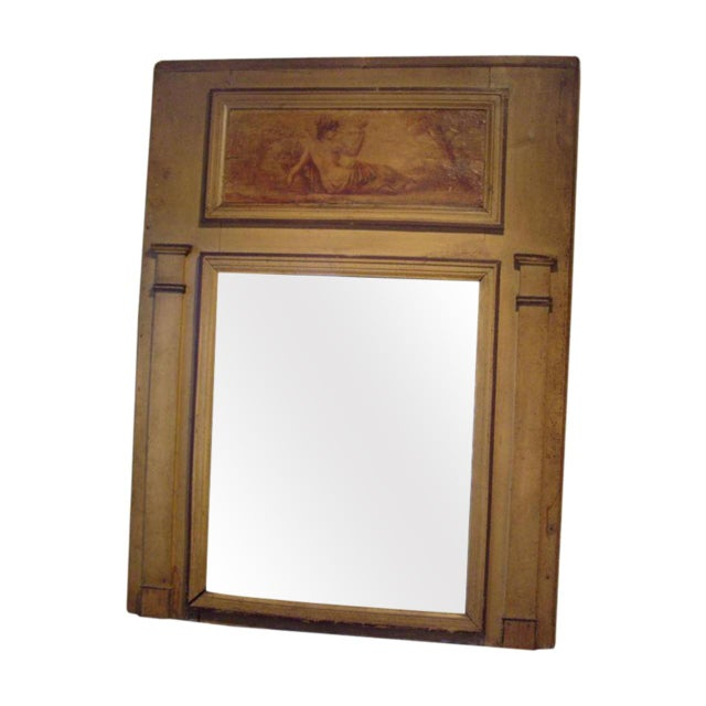 Early 19th C. Directoire' Trumeau Mirror For Sale In New Orleans - Image 6 of 6