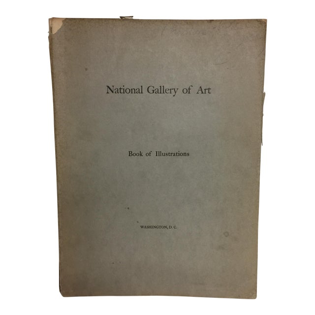 """National Gallery of Art: Book of Illustrations"" 1941 Book For Sale"