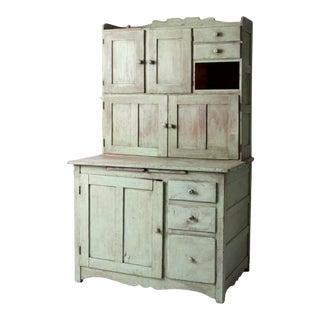 Antique Hoosier Style Baker's Cabinet For Sale