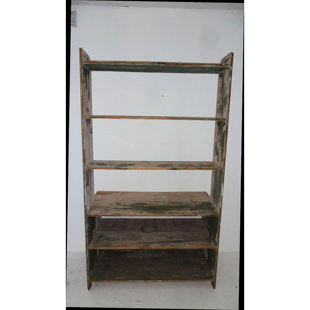 Country 19th Century Country Style Pine Hutch For Sale - Image 3 of 6