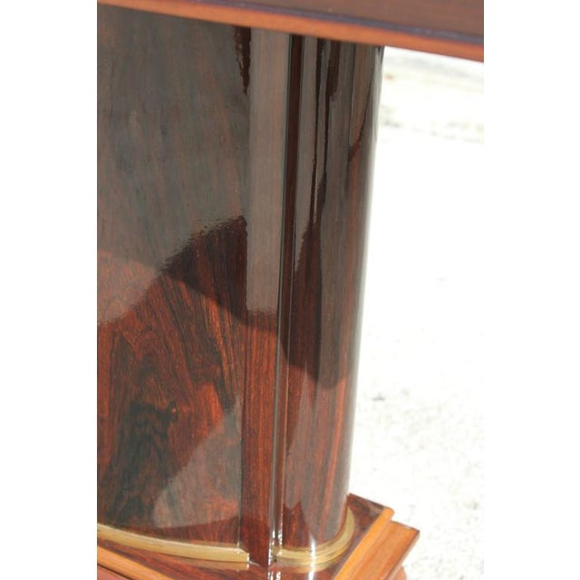 Jules Leleu French Art Deco Palisander Console Tables - A Pair - Image 8 of 10