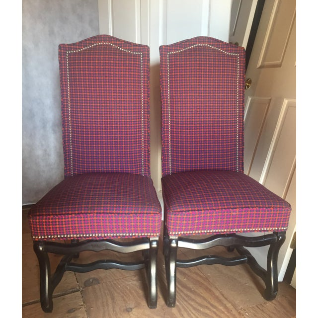 Louis XIII Style Os De Mouton Dining Chairs - a Pair - Image 2 of 11