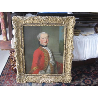 18th-Century Framed Portrait Painting Preview