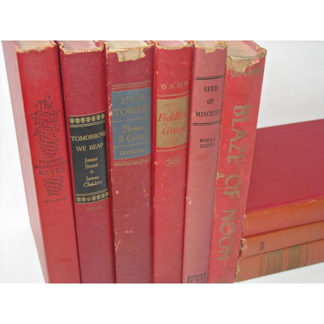 Vintage Red Book Collection - Set of 9 - Image 5 of 5