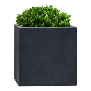 Bramley Square Planter, Small, Lead Lite For Sale
