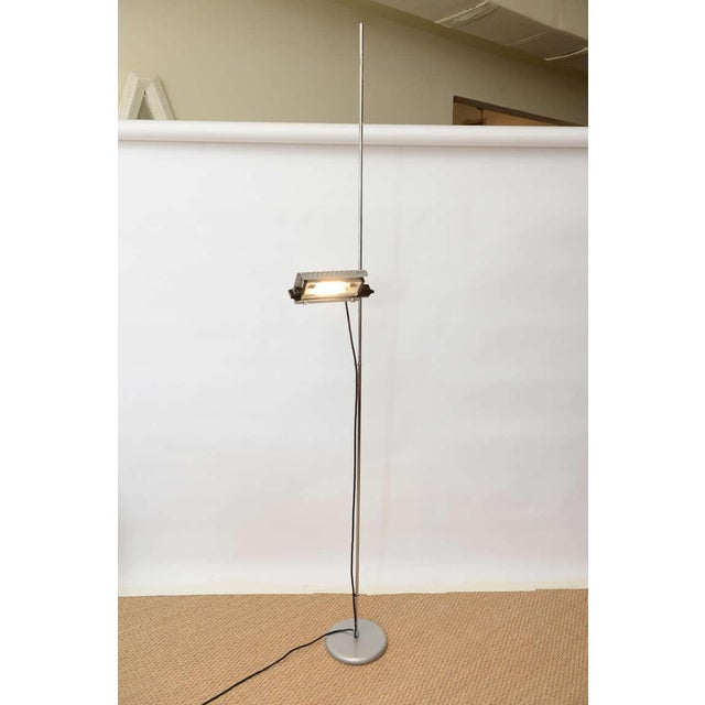 Joe Colombo Joe Colombo Alogena for O-Luce Italian Adjustable Floor Lamp For Sale - Image 4 of 10