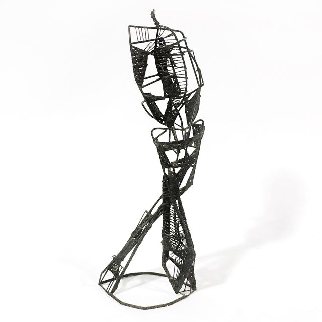 Abstract Figure Sculpture For Sale - Image 4 of 7