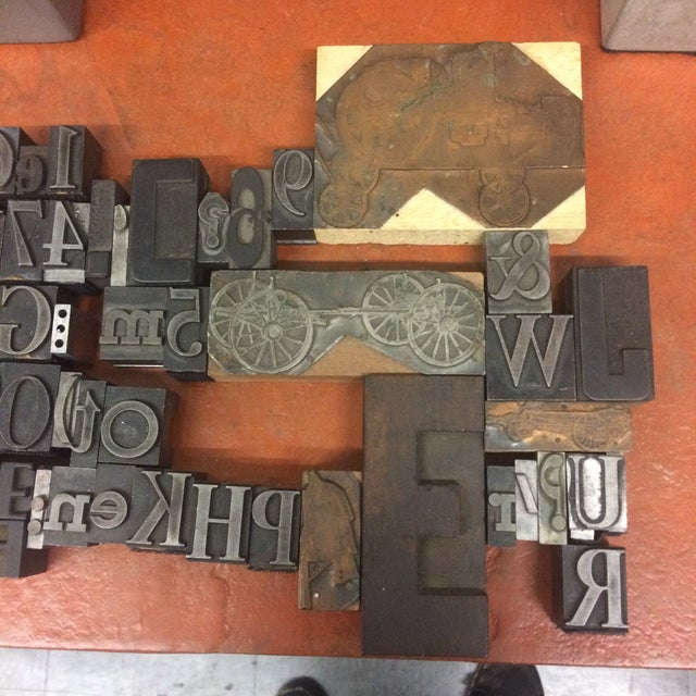 Print Letter Blocks - Set of 49 - Image 2 of 8