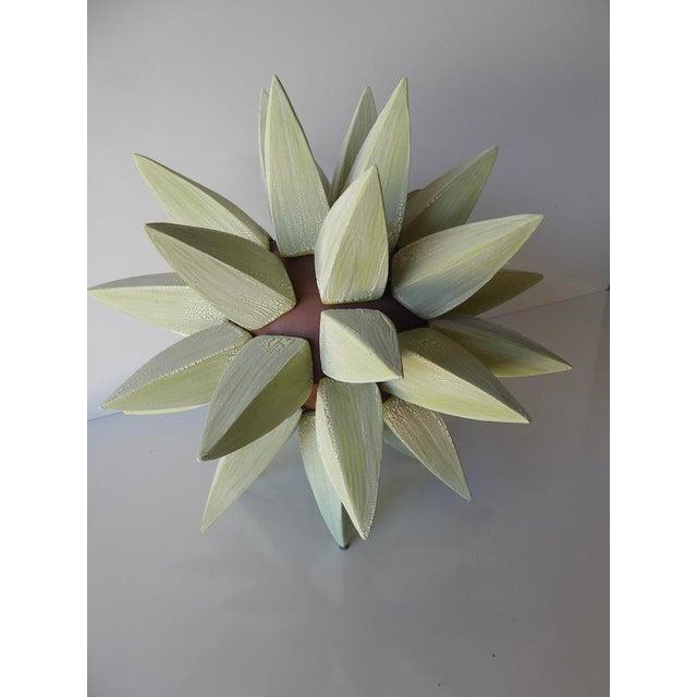 "Contemporary A ""Stellar"" Stoneware Sculpture by Contemporary American Artist Titia Estes For Sale - Image 3 of 11"