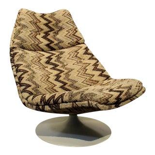 1970's Artifort Swivel Lounge Chair by Geoffrey Harcourt For Sale